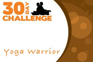 Yoga Warrior Card 30 Day Challenge by JeremyHovan81
