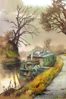The Water Gypsy by JohnPatience