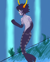Aquariumstuck Gamzee Makara by algebraicPacificer