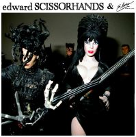 Edward Scissorhands, Elvira... by StevenEly