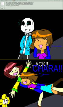 Ask Chara 30 by happypony66