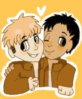 Jean and Marco by Shadowdaya123