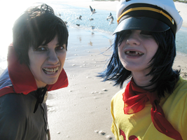 Mudz and 2D - Ha by clockworkcosplay