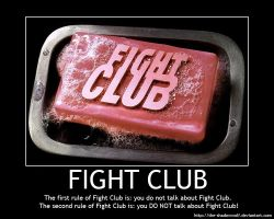 Motivational Poster: Fight Club by the-shadowwolf