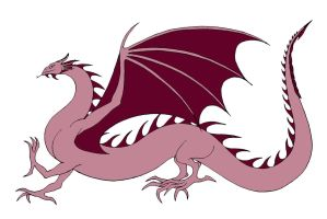 Pink Wyrm by Jakegothicsnake