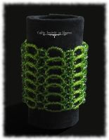 Dragon scales bracelet by Cayca