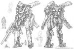 Mecha - Raiden by MeganeRid