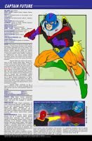 Captain Flash Future, Space Hero Character Profile by UrsaMagnus