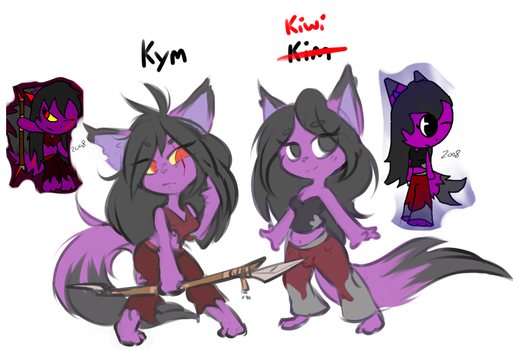 Kym and Kiwi. by ForgedSilver
