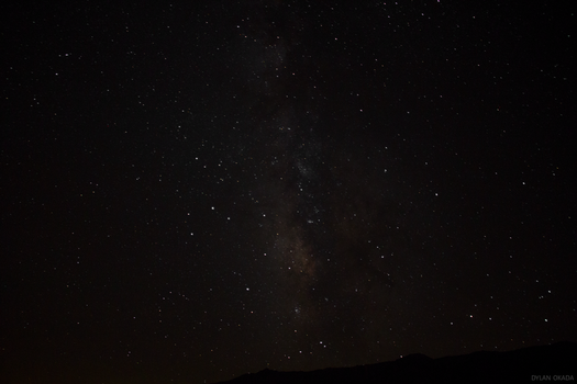 Night Sky @ Portagee Joe Campground, Lone Pine, CA by KoalaDandy