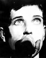 Ian Curtis by What-about-chris