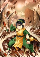 Avatar - Toph Beifong by gin-1994