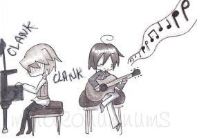 Jamming Out by minakonumnums