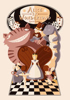 Alice in Wonderland by Mattlin