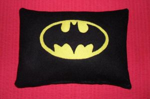 Batman Cushion by AlexsPlushies