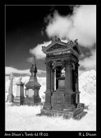Ann Dixon's Tomb rld IR 02 by richardldixon