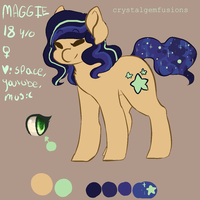 Maggie ref by crystalgemfusions