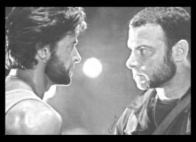 Wolverine and Creed by TheAlternate
