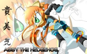 Abby the Hedgehog by Neosz369