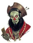 Zombie Pirate LeChuck by Fragile-yet-CunNINg