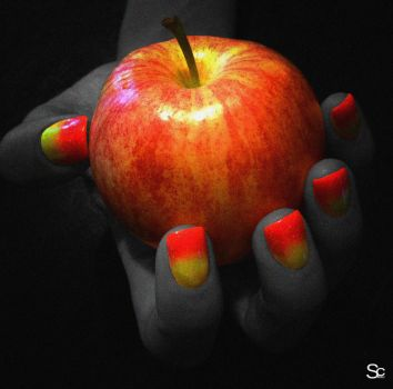Hybrid Painted Nails by ShannonCPhotography