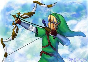 Skyward Sword Link by HyliaBeilschmidt