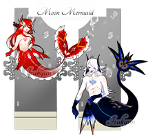 MoonMermaid Auction #19-#20 [Closed] by A--R--O