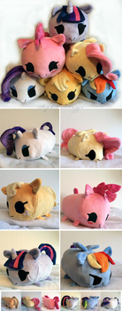 My Little Pony Puffs by Sophillia