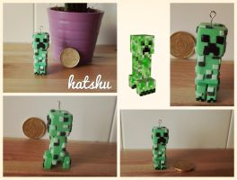 Creeper Minecraft by hatshu