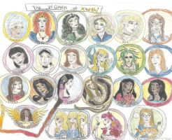 The Ladies of Xanth by Captain-Chaotica