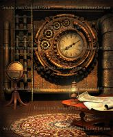 Steampunk Traveler's Maps by Trisste-stock-moved