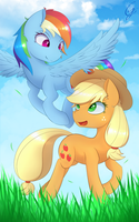 Catch me if you can! by Laptop-pone