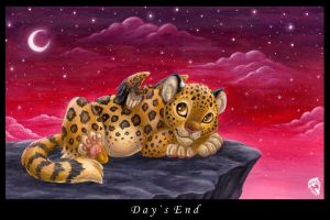Day's End by DolphyDolphiana