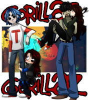 ~Gorillaz time~ by Vika01