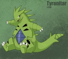 .:I Love Tyranitar:. by LadyUndead