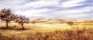 golden grasslands by vesner