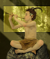 P-M::Little Satyr by Apollyna