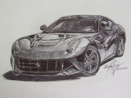 2013 Ferrari F12 Berlinetta by OMKDrawings