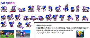 Sonaze Sprites by MyPicts