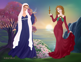 Medieval Famale Physicians by Pelycosaur24