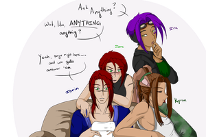 Ask An OC Anything by Rindalia