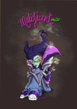 Malificent Angst by KaveriGeewhiz