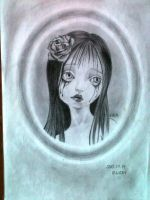 My drawing (Rose) by nightorchide