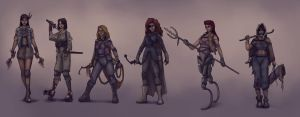 Disney Post-Apocalyptic Style by Gourmandhast