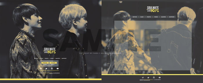 [170108]95Z Website Sample by iamfanxp