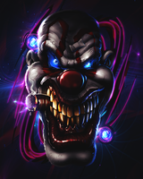 Damn Clown by ROGJD