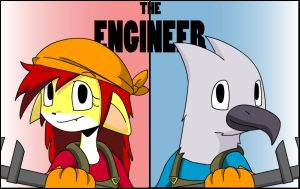The Engineer- Red and Blu by s0s2
