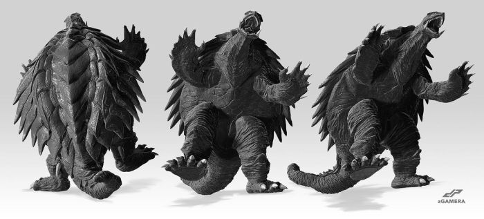 zGAMERA alternate views by dopepope
