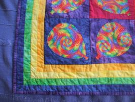 Rainbow Balloons: Quilt 2 by Magical525