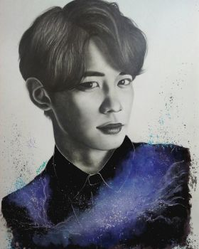 #9YearsWithSHINee - Minho by Art-Ablaze